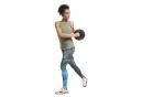Pantalones cortos Reebok Crossfit Games Khaki para mujer