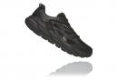 Chaussures de Running Hoka One One Clifton Leather Cuir Noir