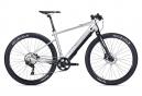 Vélo de Ville Électrique Sportif Sunn Volt S2 Shimano Deore 10V Argent / Noir 2020