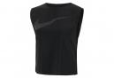 Camiseta sin mangas Nike Run Division Crop para mujer, negro