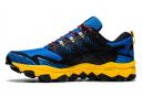 Chaussures de Trail Asics Gel FujiTrabuco 8 Bleu / Jaune