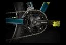 MTB Semi Rígida Trek Marlin 5  27.5'' Plus Vert / Noir 2021