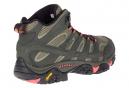 Chaussures de Randonnee Merrell Moab 2 Mid GTX Gris Femme