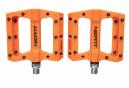 Paire de Pédales Plates Neatt Composite 8 Picots Orange