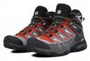 Chaussures de Randonnée Salomon X Ultra 3 Mid GTX Rouge / Noir