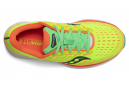 Chaussures de Running Femme Saucony Ride 13 Jaune / Orange