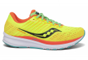 Chaussures de Running Femme Saucony Ride 13 Jaune / Orange