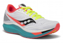 Chaussures de Running Femme Saucony Endorphin Speed Blanc / Multi-couleur