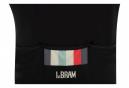 Maillot Manches Courtes LeBram Aubisque Noir / Gris Coupe Ajustée