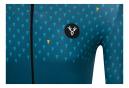 Maillot Manches Courtes LeBram Chaussy Bleu Pelforth Coupe Ajustée