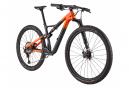 VTT Tout-Suspendu Cannondale Scalpel Carbon 2 Shimano XT 12V 29'' Gris Slate Orange 2021