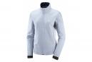 Vest Coupe-Vent Femme Softshell Salomon Agile Bleu