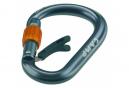 Camp Core Sicherungsschloss Grau Orange Screwgate Carabiner