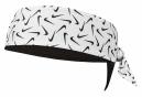 Bandeau Tête Nike Printed Dri-Fit Head Tie 3.0 Noir Blanc Unisex