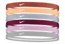 Mini Bandeaux Tête (x6) Nike Swoosh Sport 2.0 Multi-color Unisex