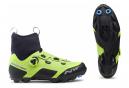 Chaussures VTT Northwave Celsius XC Arctic GTX Noir / Jaune Fluo