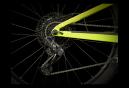 VTT Tout-Suspendu Trek Top Fuel 8 Sram NX Eagle 12V 29'' Jaune Volt Bleu Dark Aquatic 2021