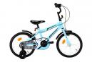 vidaXL Vélo pour enfants 16 pouces Noir et bleu