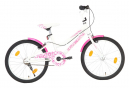 vidaXL Vélo pour enfants 20 pouces Rose et blanc