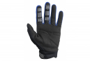 Pair of Long Fox Dirtpaw Gloves Blue