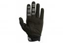 Pair of Long Fox Dirtpaw Gloves Black / White