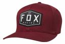 Casquette Fox Crest Flexfit Bordeau