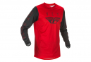Maillot Fly F-16 2021 Rouge / Noir