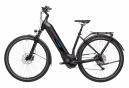 Vélo de Ville Électrique Cube Kathmandu Hybrid Pro 625 Easy Entry Shimano Deore 10V 625 Noir 2021
