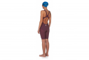 Women's Arena Powerskin R-EVO ONE Open Back Swimsuit Red / Turquoise