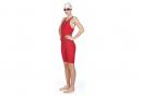 Arena Powerskin ST 2.0 Open Back Jumpsuit Red Women