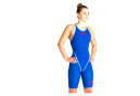 Arena Powerskin Carbon-Core FX Closed Back Wetsuit Swimsuit Blue / Red Women