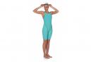 Arena Powerskin ST 2.0 Open Back Wetsuit Swimsuit Turquoise Blue Aquamarine Women