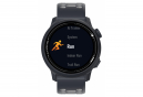 Reloj GPS Coros Pace 2 con correa de silicona azul marino oscuro