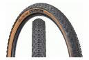 Teravail Rutland - Neumático de grava de 27.5'' sin cámara, plegable, duradero, de talón a talón, color tostado, flanco