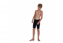 Speedo Boomstar Placement JAM Child Jammer Swimsuit Blue Red