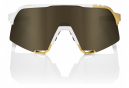 100% S3 Edition Peter Sagan LE Glasses White / Gold / Mirror