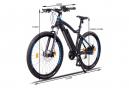 NCM Moscow 27,5 vélo électrique, VTT, noir mat