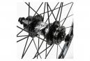 Paire de Roues BMX Excess XLC-2 Mini/Expert 20'' | 10 mm | 28 Trous Noir