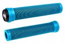 Poignées ODI longneck SLX (lamelle) std sans colerette 160mm lt blue