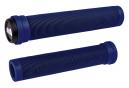 Poignées ODI Longneck SLX Flangeless 160mm Bleu