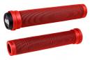 Poignées ODI Longneck SLX Flangeless 160mm Rouge