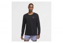 Nike Miler Run Division Camiseta de manga larga negro Hombre