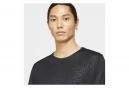 Nike Miler Run Division Camiseta de manga corta negro Hombre
