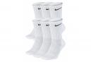 Chaussettes (x6) Nike Everyday Cushioned Blanc Unisex