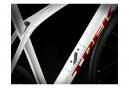 Vélo de Route Trek Domane SL 5 Disc Shimano 105 11V 2020 Blanc / Rouge