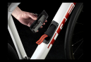 Vélo de Route Trek Domane SL 5 Disc Shimano 105 11V Blanc / Rouge