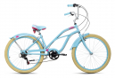 Beachcruiser 26'' Splash bleu TC 44 cm KS Cycling