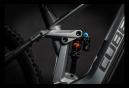 VTT Électrique Tout-Suspendu Cube Stereo Hybrid 140 HPC TM 625 Sram NX Eagle 12V 625 Wh 29'' Gris Flash Orange 2021