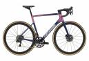 Cannondale SuperSix EVO Hi-MOD Disc Dura-Ace Di2 Bicicleta de carretera Shimano Dura-Ace Di2 11S 700 mm Azul Rosa Team Replica
