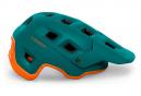 Casque All-Moutain Met Terranova Brillant Vert Orange 2021